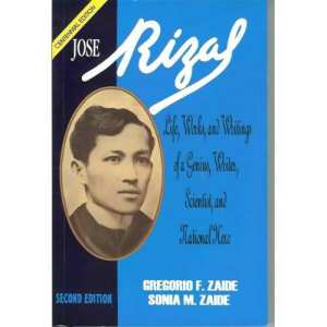reaction for rizal book by zaide View essay - reflection from english 190 at saint louis university my  reflection on the life, works and writings of dr jose rizal one  of the.
