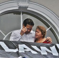 CJ Corona is emotional
