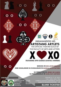 Revised Poster Artistang Artlets XOXO Poster