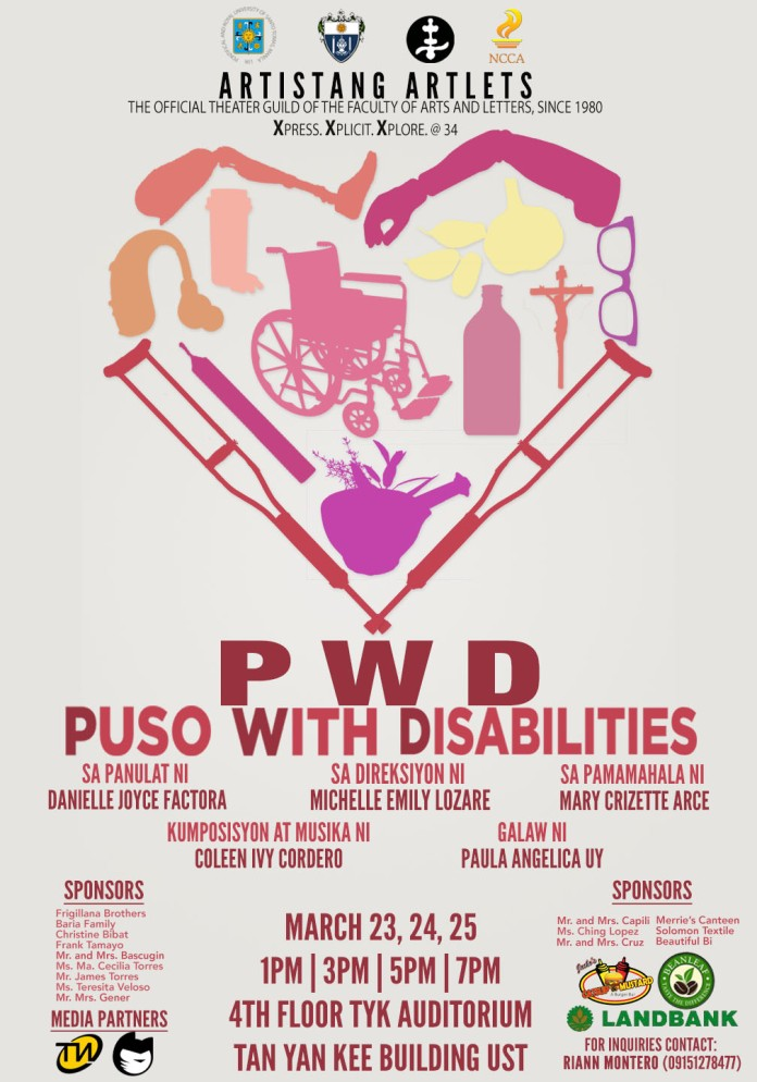 Artistang Artlets Puso with Disabilities